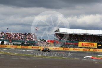 World © Octane Photographic Ltd. Formula 1 - British Grand Prix - Sunday - Race. Nico Hulkenberg - Renault Sport F1 Team R.S.17. Silverstone, UK. Sunday 16th July 2017. Digital Ref: 1892LB2D0146