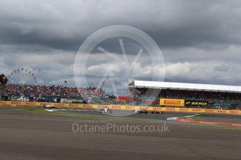 World © Octane Photographic Ltd. Formula 1 - British Grand Prix - Sunday - Race. Esteban Ocon - Sahara Force India VJM10. Silverstone, UK. Sunday 16th July 2017. Digital Ref: 1892LB2D0154