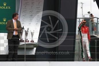 World © Octane Photographic Ltd. FIA Formula 2 (F2) - Race 1. Charles Leclerc - Prema Racing. British Grand Prix, Silverstone, UK. Saturday 15th July 2017. Digital Ref: 1887LB1D2316