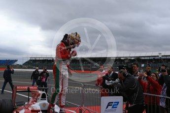 World © Octane Photographic Ltd. FIA Formula 2 (F2) - Race 1. Charles Leclerc - Prema Racing. British Grand Prix, Silverstone, UK. Saturday 15th July 2017. Digital Ref: 1887LB2D9348
