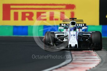 World © Octane Photographic Ltd. Formula 1 - Hungarian Grand Prix Practice 3. Felipe Massa - Williams Martini Racing FW40. Hungaroring, Budapest, Hungary. Saturday 29th July 2017. Digital Ref: