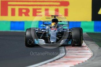 World © Octane Photographic Ltd. Formula 1 - Hungarian Grand Prix Practice 3. Lewis Hamilton - Mercedes AMG Petronas F1 W08 EQ Energy+. Hungaroring, Budapest, Hungary. Saturday 29th July 2017. Digital Ref: