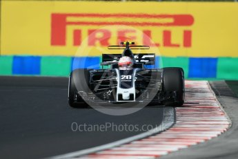 World © Octane Photographic Ltd. Formula 1 - Hungarian Grand Prix Practice 3. Kevin Magnussen - Haas F1 Team VF-17. Hungaroring, Budapest, Hungary. Saturday 29th July 2017. Digital Ref: