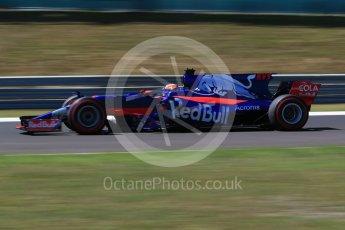 World © Octane Photographic Ltd. Formula 1 - Hungarian Grand Prix Practice 3. Daniil Kvyat - Scuderia Toro Rosso STR12. Hungaroring, Budapest, Hungary. Saturday 29th July 2017. Digital Ref: