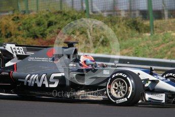 World © Octane Photographic Ltd. Formula 1 - Hungarian in-season testing. Santino Ferrucci - Haas F1 Team VF-17. Hungaroring, Budapest, Hungary. Tuesday 1st August 2017. Digital Ref:1916CB1L2494