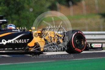 World © Octane Photographic Ltd. Formula 1 - Hungarian in-season testing. Nicholas Latifi - Renault Sport F1 Team R.S.17. Hungaroring, Budapest, Hungary. Tuesday 1st August 2017. Digital Ref:1916CB1L2514