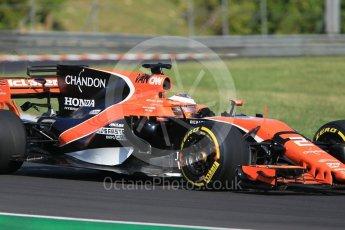 World © Octane Photographic Ltd. Formula 1 - Hungarian in-season testing. Stoffel Vandoorne - McLaren Honda MCL32. Hungaroring, Budapest, Hungary. Tuesday 1st August 2017. Digital Ref:1916CB1L2520