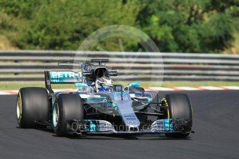 World © Octane Photographic Ltd. Formula 1 - Hungarian Pirelli tyre test. Valtteri Bottas - Mercedes AMG Petronas F1 W08 EQ Energy+. Hungaroring, Budapest, Hungary. Tuesday 1st August 2017. Digital Ref:1916CB1L2551