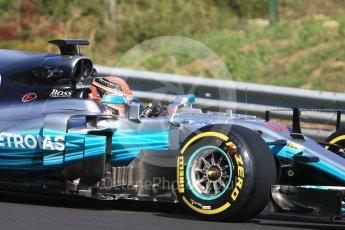 World © Octane Photographic Ltd. Formula 1 - Hungarian in-season testing. George Russell - Mercedes AMG Petronas F1 W08 EQ Energy+. Hungaroring, Budapest, Hungary. Tuesday 1st August 2017. Digital Ref:1916CB1L2608