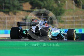 World © Octane Photographic Ltd. Formula 1 - Hungarian in-season testing. George Russell - Mercedes AMG Petronas F1 W08 EQ Energy+. Hungaroring, Budapest, Hungary. Tuesday 1st August 2017. Digital Ref:1916CB1L2614
