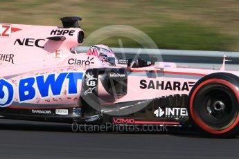 World © Octane Photographic Ltd. Formula 1 - Hungarian in-season testing. Nikita Mazepin - Sahara Force India VJM10. Hungaroring, Budapest, Hungary. Tuesday 1st August 2017. Digital Ref:1916CB1L2704