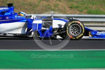 World © Octane Photographic Ltd. Formula 1 - Hungarian in-season testing. Gustav Malja – Sauber F1 Team C36. Hungaroring, Budapest, Hungary. Tuesday 1st August 2017. Digital Ref:1916CB1L2743
