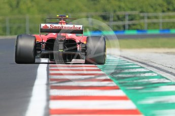 World © Octane Photographic Ltd. Formula 1 - Hungarian in-season testing. Charles LeClerc - Scuderia Ferrari SF70H. Hungaroring, Budapest, Hungary. Tuesday 1st August 2017. Digital Ref:1916CB1L2904