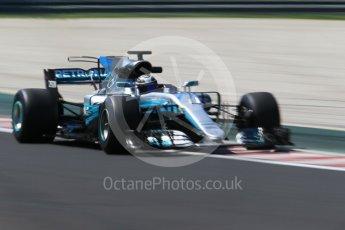 World © Octane Photographic Ltd. Formula 1 - Hungarian Pirelli tyre test. Valtteri Bottas - Mercedes AMG Petronas F1 W08 EQ Energy+. Hungaroring, Budapest, Hungary. Tuesday 1st August 2017. Digital Ref:1916CB1L2998
