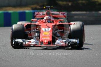 World © Octane Photographic Ltd. Formula 1 - Hungarian in-season testing. Charles LeClerc - Scuderia Ferrari SF70H. Hungaroring, Budapest, Hungary. Tuesday 1st August 2017. Digital Ref:1916CB1L3009