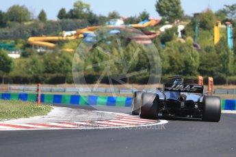 World © Octane Photographic Ltd. Formula 1 - Hungarian in-season testing. Santino Ferrucci - Haas F1 Team VF-17. Hungaroring, Budapest, Hungary. Tuesday 1st August 2017. Digital Ref: 1916CB2D4622