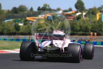 World © Octane Photographic Ltd. Formula 1 - Hungarian in-season testing. Nikita Mazepin - Sahara Force India VJM10. Hungaroring, Budapest, Hungary. Tuesday 1st August 2017. Digital Ref:1916CB2D4627