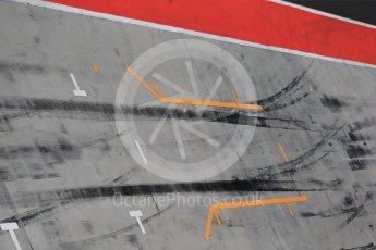 World © Octane Photographic Ltd. Formula 1 - Hungarian Pirelli tyre test. Red Bull Racing pit box. Hungaroring, Budapest, Hungary. Tuesday 1st August 2017. Digital Ref: