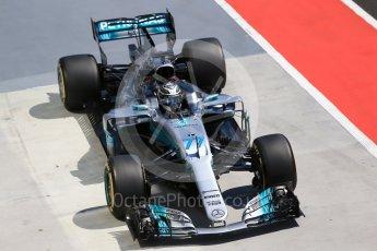 World © Octane Photographic Ltd. Formula 1 - Hungarian Pirelli tyre test. Valtteri Bottas - Mercedes AMG Petronas F1 W08 EQ Energy+. Hungaroring, Budapest, Hungary. Tuesday 1st August 2017. Digital Ref: