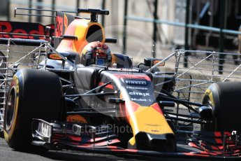 World © Octane Photographic Ltd. Formula 1 - Hungarian in-season testing. Max Verstappen - Red Bull Racing RB13. Hungaroring, Budapest, Hungary. Tuesday 1st August 2017. Digital Ref:1916LB1D2156