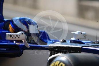 World © Octane Photographic Ltd. Formula 1 - Hungarian in-season testing. Gustav Malja – Sauber F1 Team C36. Hungaroring, Budapest, Hungary. Tuesday 1st August 2017. Digital Ref:1916LB1D2170