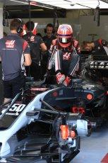 World © Octane Photographic Ltd. Formula 1 - Hungarian in-season testing. Santino Ferrucci - Haas F1 Team VF-17. Hungaroring, Budapest, Hungary. Tuesday 1st August 2017. Digital Ref:1916LB1D2413