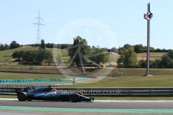 World © Octane Photographic Ltd. Formula 1 - Hungarian in-season testing. George Russell - Mercedes AMG Petronas F1 W08 EQ Energy+. Hungaroring, Budapest, Hungary. Tuesday 1st August 2017. Digital Ref:1916LB1D2493