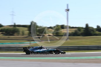 World © Octane Photographic Ltd. Formula 1 - Hungarian in-season testing. George Russell - Mercedes AMG Petronas F1 W08 EQ Energy+. Hungaroring, Budapest, Hungary. Tuesday 1st August 2017. Digital Ref:1916LB1D2537
