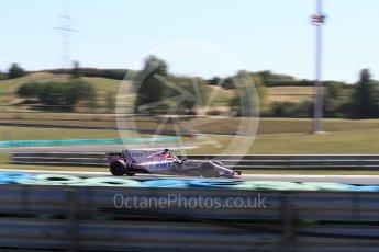 World © Octane Photographic Ltd. Formula 1 - Hungarian in-season testing. Nikita Mazepin - Sahara Force India VJM10. Hungaroring, Budapest, Hungary. Tuesday 1st August 2017. Digital Ref:1916LB1D2617