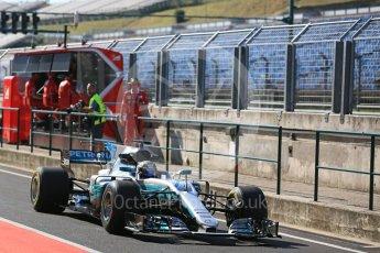 World © Octane Photographic Ltd. Formula 1 - Hungarian Pirelli tyre test. Valtteri Bottas - Mercedes AMG Petronas F1 W08 EQ Energy+. Hungaroring, Budapest, Hungary. Tuesday 1st August 2017. Digital Ref:1916LB5D3148