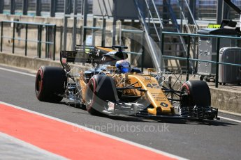 World © Octane Photographic Ltd. Formula 1 - Hungarian in-season testing. Nicholas Latifi - Renault Sport F1 Team R.S.17. Hungaroring, Budapest, Hungary. Tuesday 1st August 2017. Digital Ref:1916LB5D3168