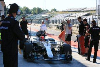 World © Octane Photographic Ltd. Formula 1 - Hungarian in-season testing. George Russell - Mercedes AMG Petronas F1 W08 EQ Energy+ nose swap. Hungaroring, Budapest, Hungary. Tuesday 1st August 2017. Digital Ref:1916LB5D3215