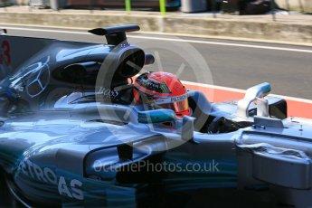 World © Octane Photographic Ltd. Formula 1 - Hungarian in-season testing. George Russell - Mercedes AMG Petronas F1 W08 EQ Energy+. Hungaroring, Budapest, Hungary. Tuesday 1st August 2017. Digital Ref:1916LB5D3220