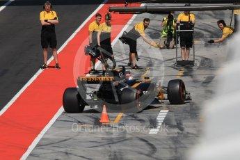 World © Octane Photographic Ltd. Formula 1 - Hungarian in-season testing. Robert Kubica - Renault Sport F1 Team R.S.17. Hungaroring, Budapest, Hungary. Wednesday 2nd August 2017. Digital Ref: