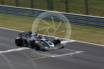 World © Octane Photographic Ltd. Formula 1 - Hungarian in-season testing. Santino Ferrucci - Haas F1 Team VF-17. Hungaroring, Budapest, Hungary. Wednesday 2nd August 2017. Digital Ref:1917CB2D5261