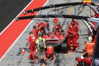 World © Octane Photographic Ltd. Formula 1 - Hungarian in-season testing. Sebastian Vettel - Scuderia Ferrari SF70H. Hungaroring, Budapest, Hungary. Wednesday 2nd August 2017. Digital Ref:1917CB2D5444