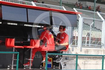 World © Octane Photographic Ltd. Formula 1 - Hungarian in-season testing. Charles LeClerc - Scuderia Ferrari SF70H. Hungaroring, Budapest, Hungary. Wednesday 2nd August 2017. Digital Ref: