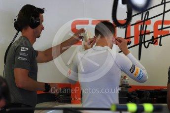 World © Octane Photographic Ltd. Formula 1 - Canadian Grand Prix - Saturday - Practice 3. Stoffel Vandoorne - McLaren Honda MCL32. Circuit Gilles Villeneuve, Montreal, Canada. Saturday 10th June 2017. Digital Ref: 1853LB1D5277