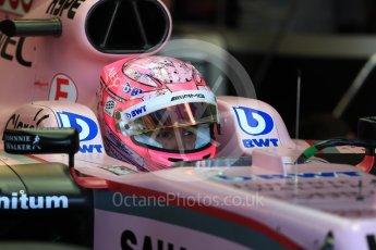 World © Octane Photographic Ltd. Formula 1 - Canadian Grand Prix - Saturday - Practice 3. Esteban Ocon - Sahara Force India VJM10. Circuit Gilles Villeneuve, Montreal, Canada. Saturday 10th June 2017. Digital Ref: 1853LB1D5315