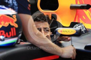 World © Octane Photographic Ltd. Formula 1 - Canadian Grand Prix - Saturday - Practice 3. Daniel Ricciardo - Red Bull Racing RB13. Circuit Gilles Villeneuve, Montreal, Canada. Saturday 10th June 2017. Digital Ref: 1853LB1D5360
