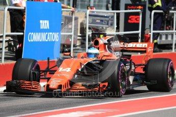 World © Octane Photographic Ltd. Formula 1 - Canadian Grand Prix - Saturday - Practice 3. Fernando Alonso - McLaren Honda MCL32. Circuit Gilles Villeneuve, Montreal, Canada. Saturday 10th June 2017. Digital Ref: 1853LB1D5598