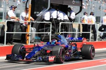 World © Octane Photographic Ltd. Formula 1 - Canadian Grand Prix - Saturday - Practice 3. Carlos Sainz - Scuderia Toro Rosso STR12. Circuit Gilles Villeneuve, Montreal, Canada. Saturday 10th June 2017. Digital Ref: 1853LB1D5758