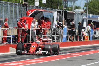 World © Octane Photographic Ltd. Formula 1 - Canadian Grand Prix - Saturday - Practice 3. Kimi Raikkonen - Scuderia Ferrari SF70H. Circuit Gilles Villeneuve, Montreal, Canada. Saturday 10th June 2017. Digital Ref: 1853LB1D6038