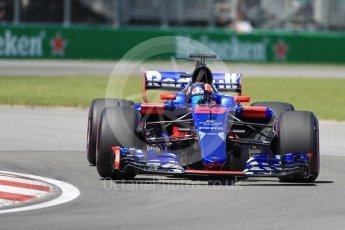 World © Octane Photographic Ltd. Formula 1 - Canadian Grand Prix - Saturday - Qualifying. Daniil Kvyat - Scuderia Toro Rosso STR12. Circuit Gilles Villeneuve, Montreal, Canada. Saturday 10th June 2017. Digital Ref: 1854LB1D6258