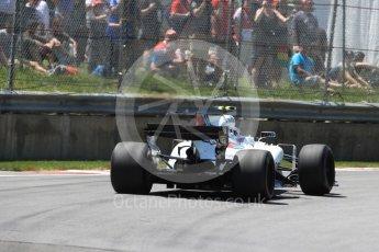 World © Octane Photographic Ltd. Formula 1 - Canadian Grand Prix - Saturday - Qualifying. Lance Stroll - Williams Martini Racing FW40. Circuit Gilles Villeneuve, Montreal, Canada. Saturday 10th June 2017. Digital Ref: 1854LB1D6595
