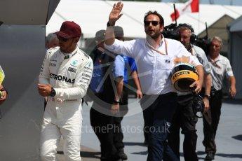 World © Octane Photographic Ltd. Formula 1 - Canadian Grand Prix - Saturday - Qualifying. Lewis Hamilton - Mercedes AMG Petronas F1 W08 EQ Energy+. Circuit Gilles Villeneuve, Montreal, Canada. Saturday 10th June 2017. Digital Ref: 1854LB1D6936