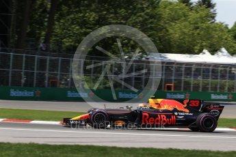World © Octane Photographic Ltd. Formula 1 - Canadian Grand Prix - Saturday - Qualifying. Max Verstappen - Red Bull Racing RB13. Circuit Gilles Villeneuve, Montreal, Canada. Saturday 10th June 2017. Digital Ref: 1854LB2D3059