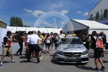 World © Octane Photographic Ltd. Formula 1 - Canadian Grand Prix - Saturday - Qualifying. Lewis Hamilton - Mercedes AMG Petronas F1 W08 EQ Energy+. Circuit Gilles Villeneuve, Montreal, Canada. Saturday 10th June 2017. Digital Ref: 1854LB2D3154