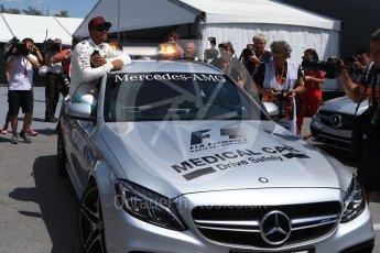 World © Octane Photographic Ltd. Formula 1 - Canadian Grand Prix - Saturday - Qualifying. Lewis Hamilton - Mercedes AMG Petronas F1 W08 EQ Energy+. Circuit Gilles Villeneuve, Montreal, Canada. Saturday 10th June 2017. Digital Ref: 1854LB2D3159