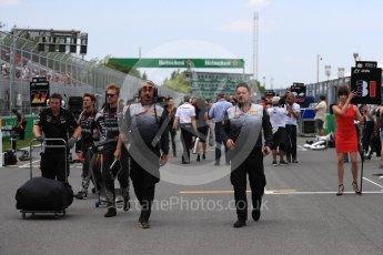 World © Octane Photographic Ltd. Formula 1 - Canadian Grand Prix. Mario Isola – Pirelli Head of Car Racing. Circuit Gilles Villeneuve, Montreal, Canada. Sunday 11th June 2017. Digital Ref: 1856LB1D7541